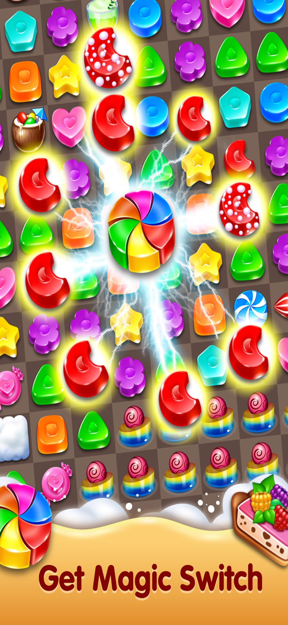 Cookie Paradise - Sweet Puzzle hack tool