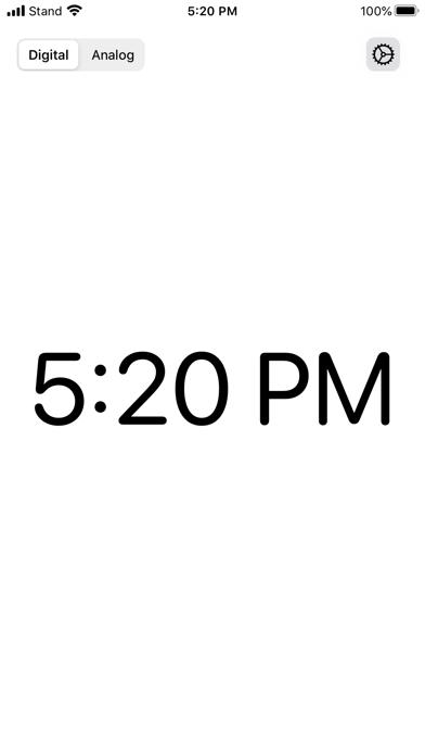 Stand -時計アプリのスクリーンショット1