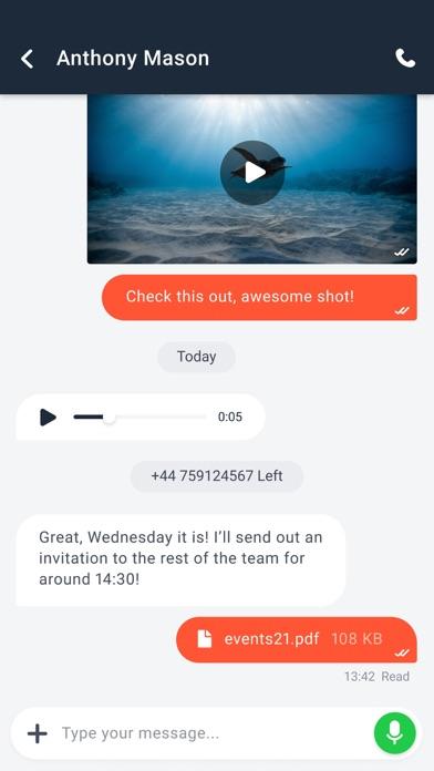 SaltIM screenshot four