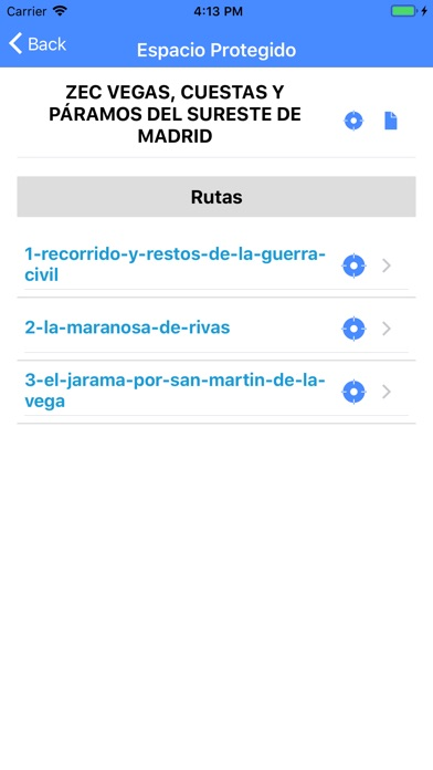 Screenshot for Red Natura 2000 Madrid in Italy App Store