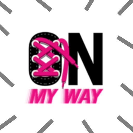 On My Way Stickers