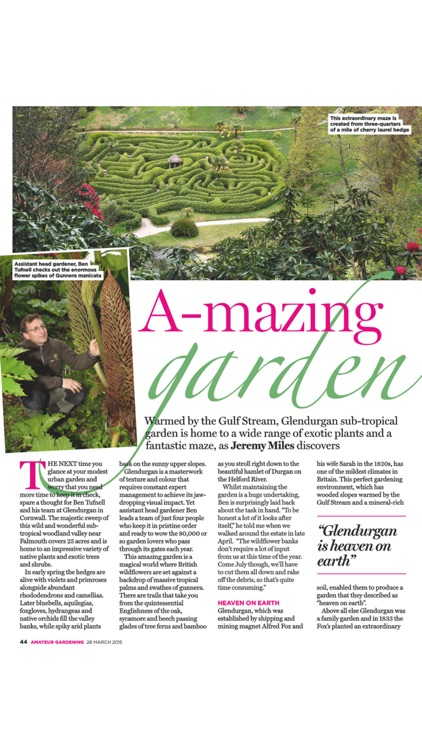 Amateur Gardening Magazine screenshot-2