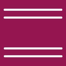 Dingbats - Between the lines