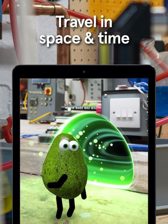 iPad Image of Avo!