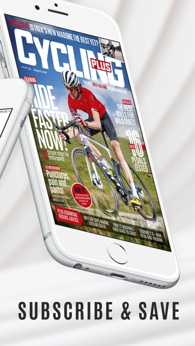Cycling Plus Magazine Screenshot