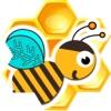 蜜蜂收集蜂蜜