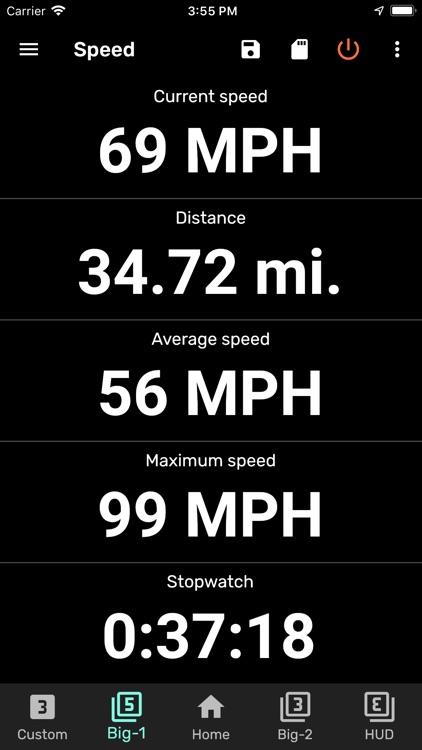 GPS Speedometer and Odometer