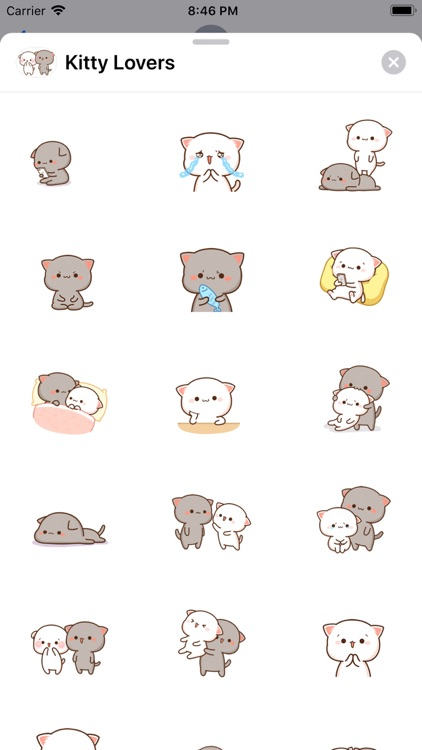 Kitty Lovers - Cat Stickers