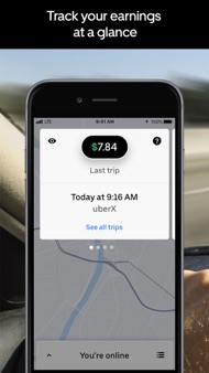 Uber Driver iphone images