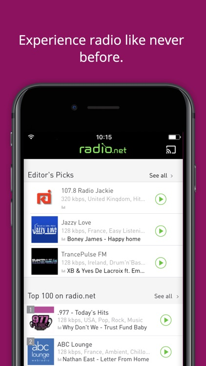 radio.net PRIME screenshot-3