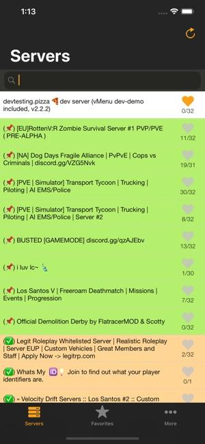 FiveM Serverlist
