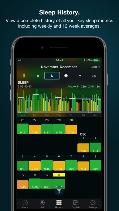 Screenshot for AutoSleep Tracker for Watch in Malaysia App Store