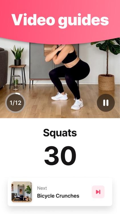 WeBurn - Women Fitness At Home screenshot-3