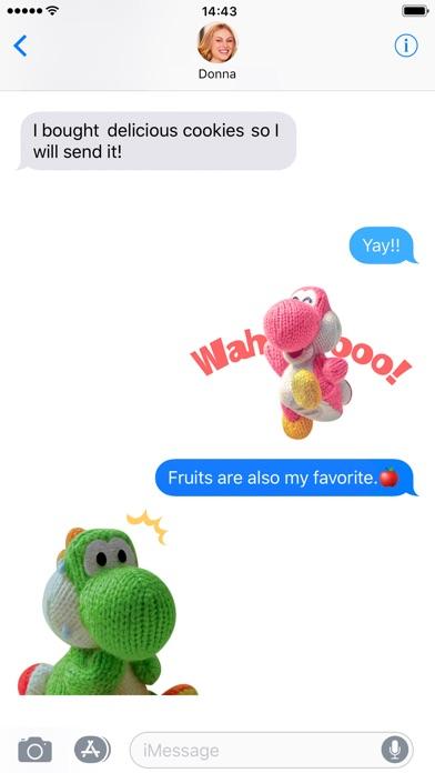 Yarn Yoshi & Poochy Stickers screenshot 2