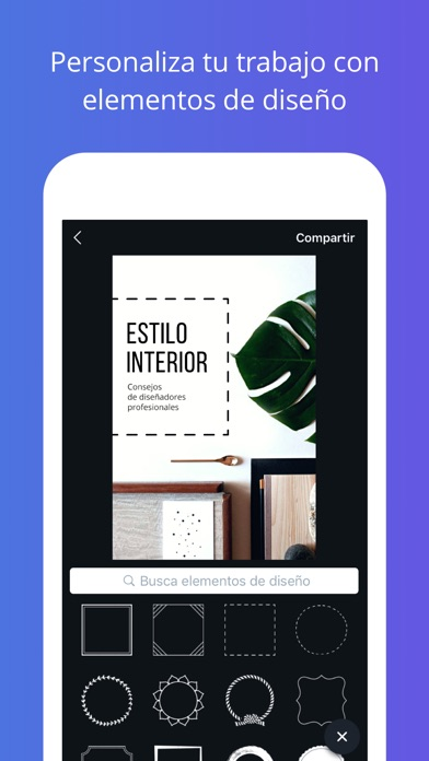 Screenshot for Canva Diseña - Diseño Gráfico in Mexico App Store