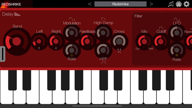 Redshrike - AUv3 Plugin Synth screenshot-3