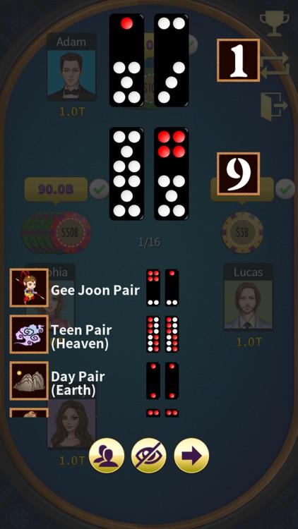Paigow poker - KK Pai Gow (牌九) screenshot-6