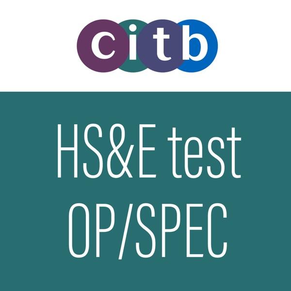 CITB Op/Spec HS&E test 2019