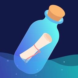 一对漂流瓶