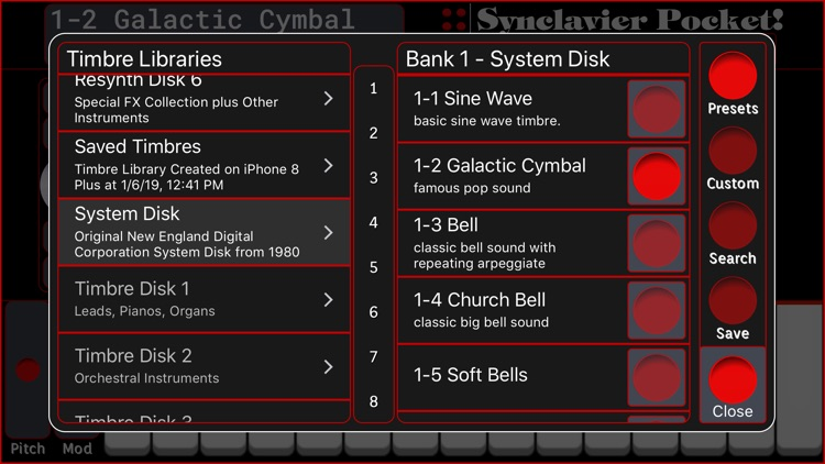 Synclavier Pocket! screenshot-3