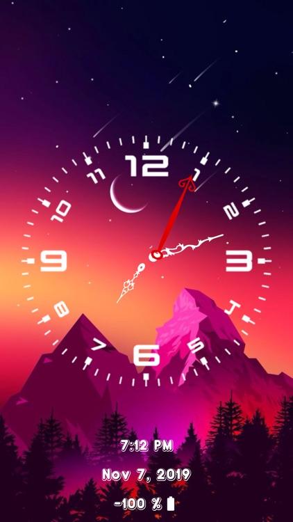 Analog Clock - Face Clock Time screenshot-5