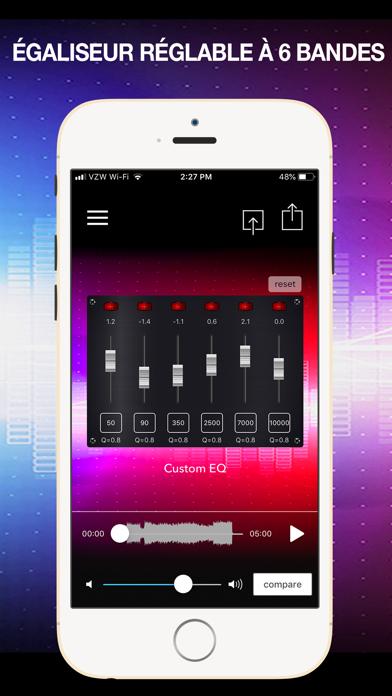 Screenshot #2 pour AudioMaster Pro: Mastering App