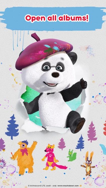 Masha and the Bear: Art Games screenshot-7