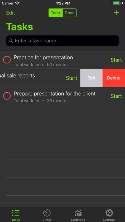 Focus - Task & Time Manager screenshot-4