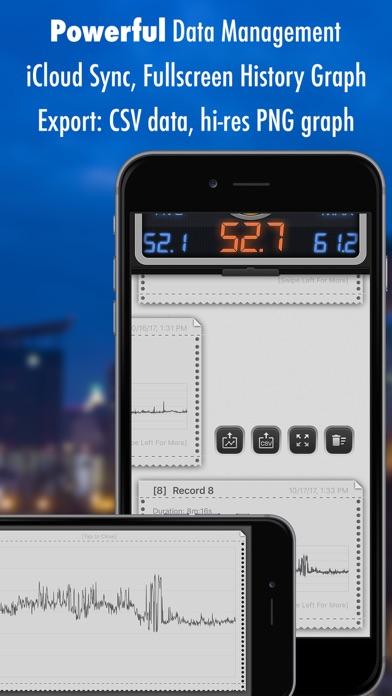 Screenshot for Decibel X: dB, dBA Noise Meter in Denmark App Store