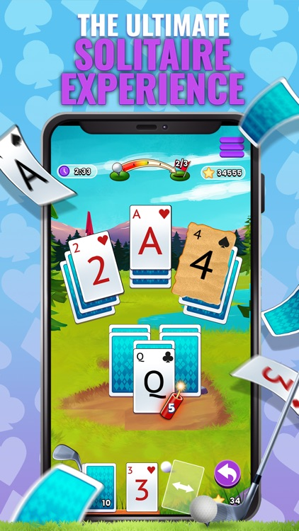 Golf Solitaire TriPeaks Cards!