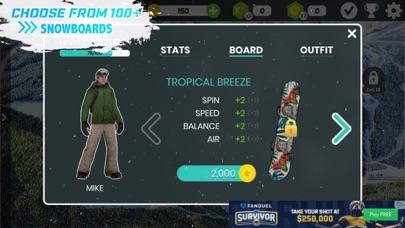 Snowboard Party: Aspen Screenshot on iOS