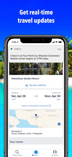 Orbitz Hotels & Flights en App Store