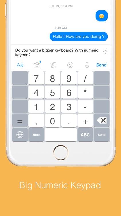 Highlighted Large Keyboard screenshot-3