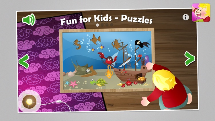 Fun for Kids Learning puzzles screenshot-0