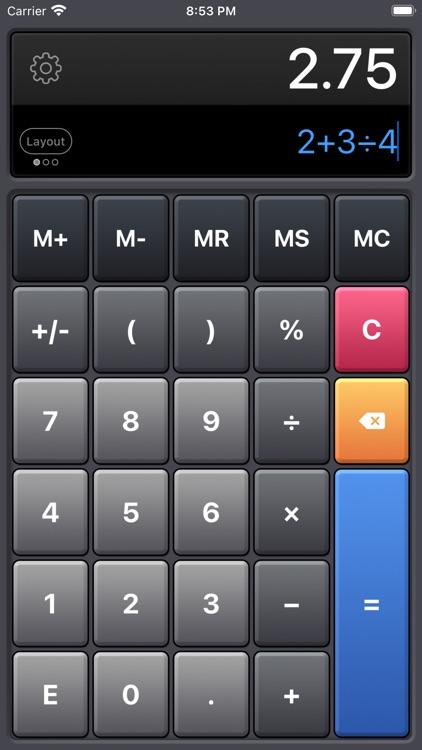 Calculator HD Pro Lite screenshot-4