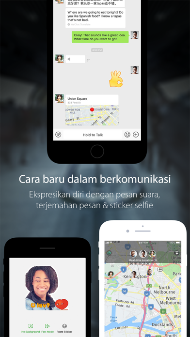 Screenshot for WeChat in Indonesia App Store