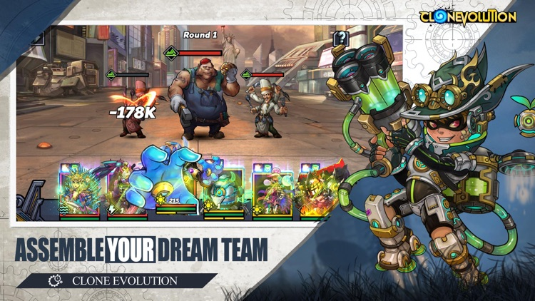 Clone Evolution: Cyber War screenshot-3