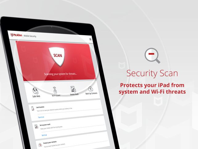 Mobile Security & Safe Web VPN Screenshot