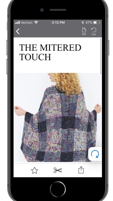 Vogue Knitting Screenshot