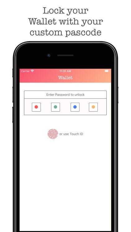 Wallet Pro - Credit Wallet screenshot-5