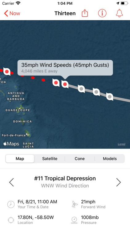 My Hurricane Tracker Pro
