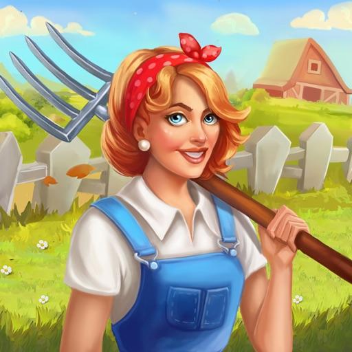 Jane's Farm: farming town icon