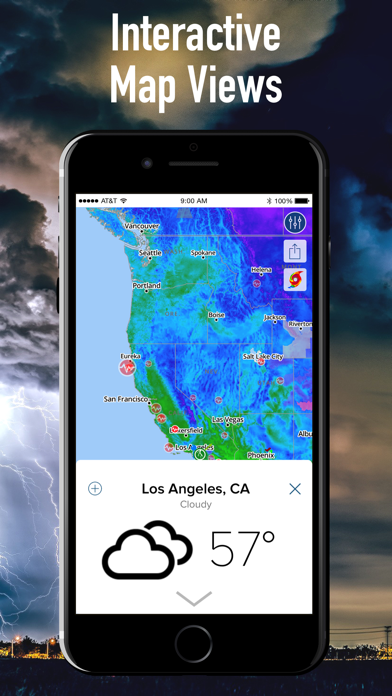 Weather Hi Def Radar review screenshots