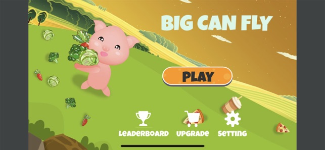 Big Can Fly, game for IOS