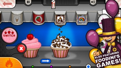 Papa's Cupcakeria To Go! Screenshot