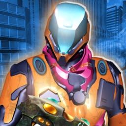 Epic Sci Fi War Robots Battle