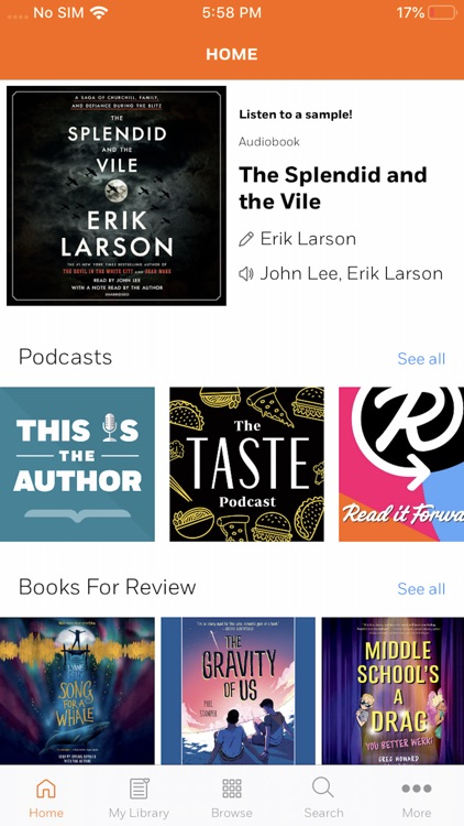 Volumes Turn Up Your Audiobook screenshot-0