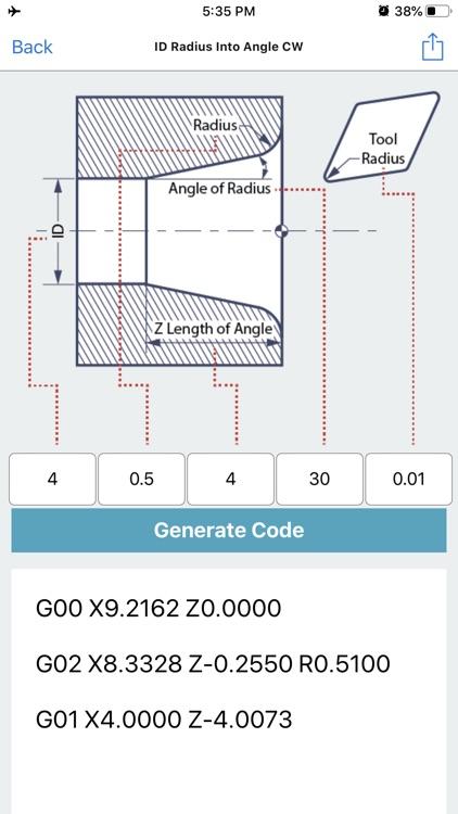 G Code Generator CNC OD ID screenshot-6
