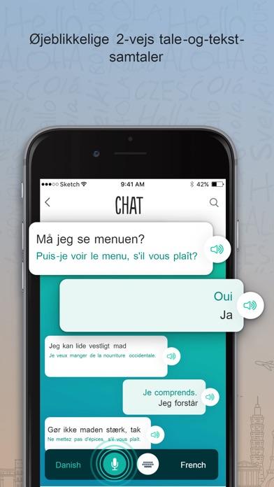 Screenshot for Fransk Trocal in Denmark App Store