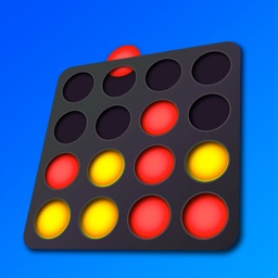 Connect 4 in a row. Brain game